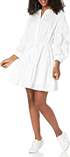 ASTR the label Women's Ruched Long Sleeve Dress