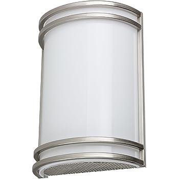 Sunlite LFX//HM//BN//E//D//30K 13-watt 120-volt Dimmable Decorative Band Trim Fixture with Acrylic Lens 12-Inch Brushed Nickel Finish Sunshine Lighting