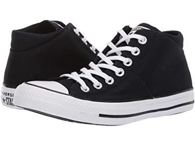 Converse Chuck Taylor(r) All Star(r) Madison True Faves Mid (Black) Women