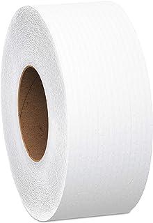 Scott Essential Jumbo Roll (JR) Commercial Toilet Paper (07223), 1-PLY, White, 12 Rolls / Case, 2,000' / Roll