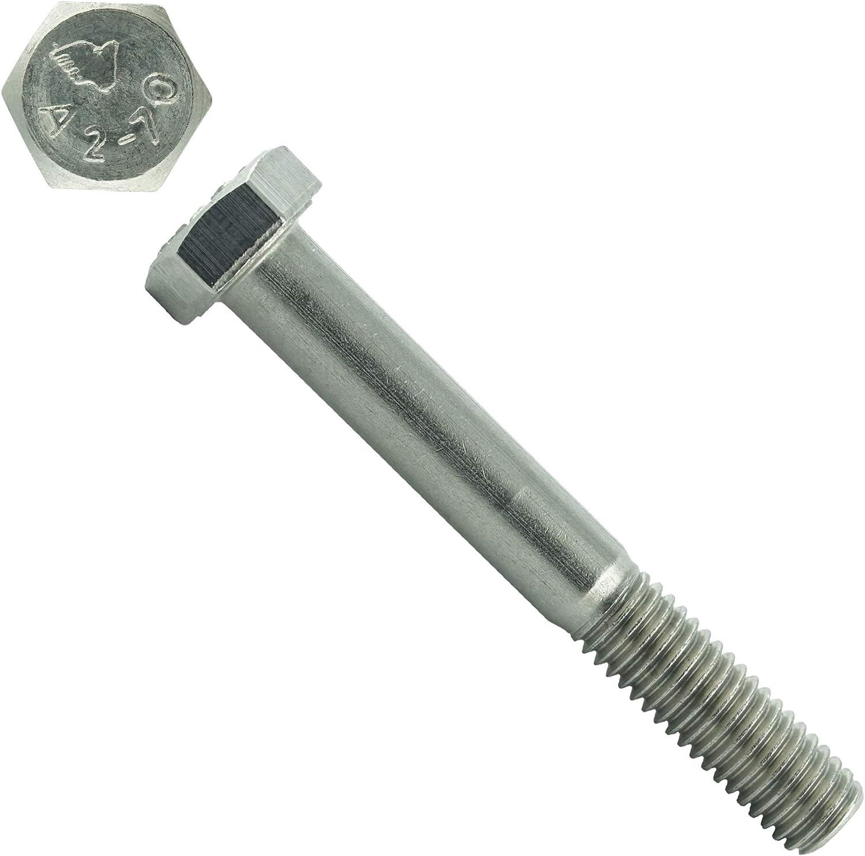 ISO 4014 rostfrei Eisenwaren2000 M10 x 140 mm Sechskantschrauben mit Schaft Edelstahl A2 V2A Gewindeschrauben - DIN 931 30 St/ück Maschinenschrauben mit Teilgewinde
