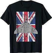 Vulcan Bomber Cold War RAF Bomber Vintage UK Flag Tee