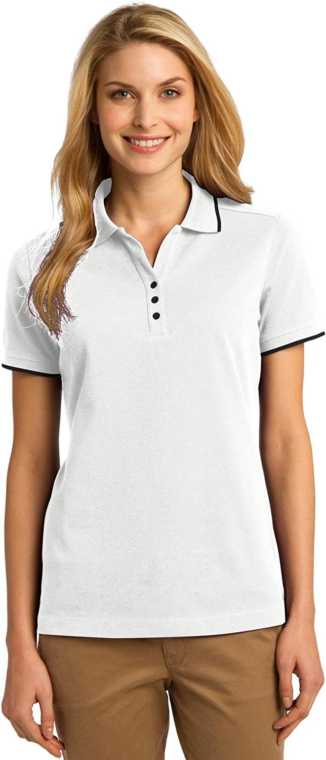 Port Authority Women's Rapid Dry Tipped Polo