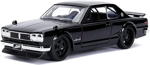 New DIECAST Toys CAR JADA 1:32 W/B - Metals - Fast & Furious - Brian's Nissan Skyline 2000 GT-R (KPGC10) (Black) 99602
