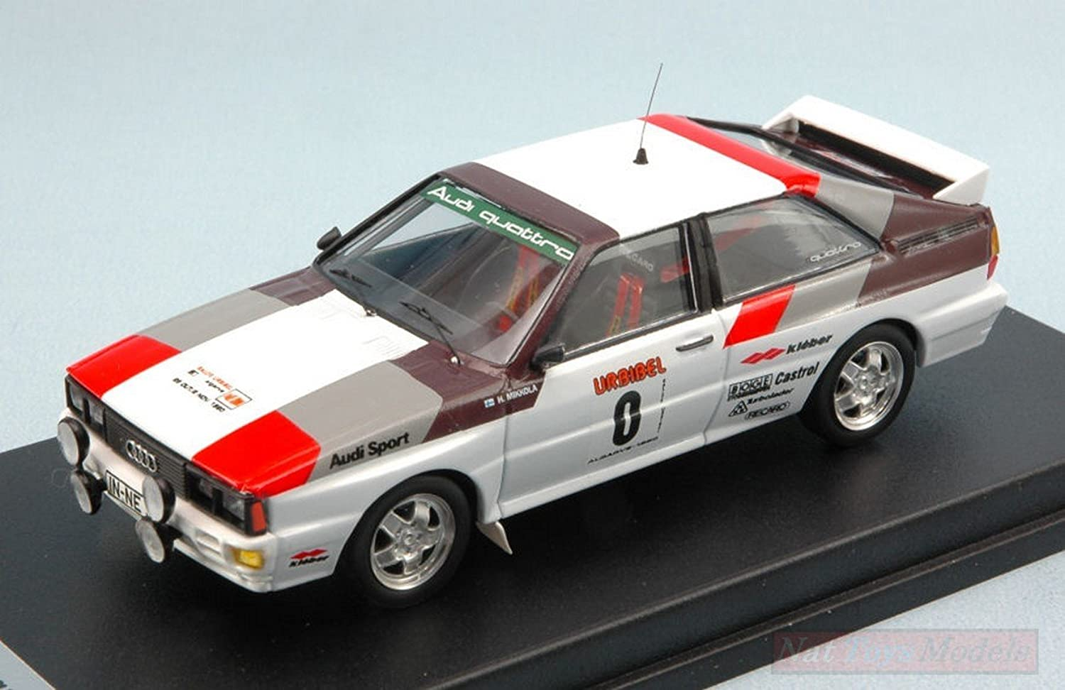 punto de venta en línea Trofeu TFRRAL35 Audi Quattro N.0 Rally of Algarve 1980 1980 1980 BUT Not Allowed 1 43 Compatible con  alto descuento