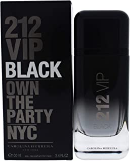 212 VIP Black by Carolina Herrera - perfume for men - Eau de Parfum, 100ml
