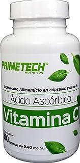 Vitamina C 300 cápsulas de 340 mg c/u