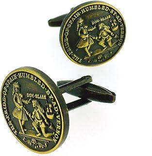 Gemelolandia | Gemelos de Camisa Medalla Blas de Lezo Gemelos Originales Para Camisas | Para Hombres y Niños | Regalos Par...
