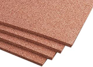 """Manton Cork Sheet, 100% Natural, 4` x 8` x 1/2"""" - Thickest Available"""
