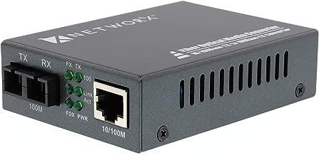 Networx Fiber Media Converter - UTP to 100Base-FX - SC Singlemode, 20km, 1310nm