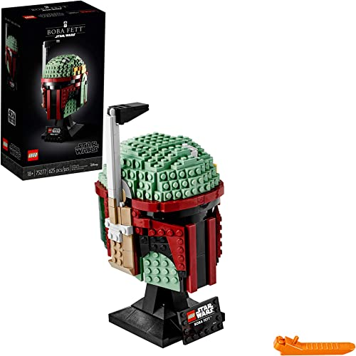LEGO Star Wars Boba Fett Helmet 75277 Building Kit, Cool, Collectible Star Wars Character Building Set (625 Pieces)