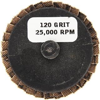Shark 73755    2-Inch Aluminum Rolock Mini Flap Disc, Grit-120, 5-Pack