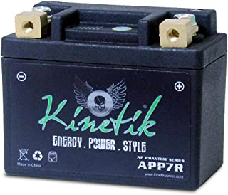 LiFePO4 12V 7-9ah Battery for Yamaha 50 YW50A, F, FX Zuma 2002-2014