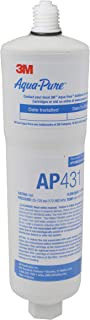 3M Aqua-Pure Whole House Scale Inhibition Inline Replacement Water Cartridge AP431, For Aqua-Pure System AP430SS, Helps Prevent Scale Buildup On Hot Water Heaters, Boilers, Plumbing Pipes and Fixtures