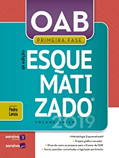 OAB esquematizado® - Volume único - 1ª Fase