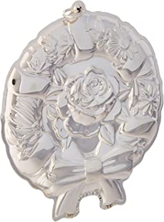 Kirk Stieff Stieff Wreath Sterling Silver Christmas Holiday Ornament, 10th Edition,