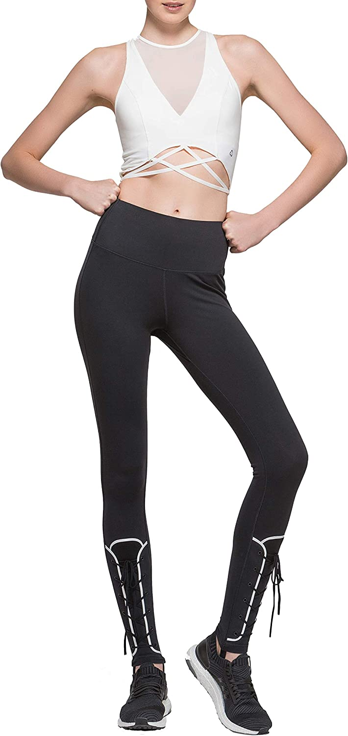 TITIKA Women's Yoga Legging Add Some Edge to Your Every Day with This Sleek Design. Black