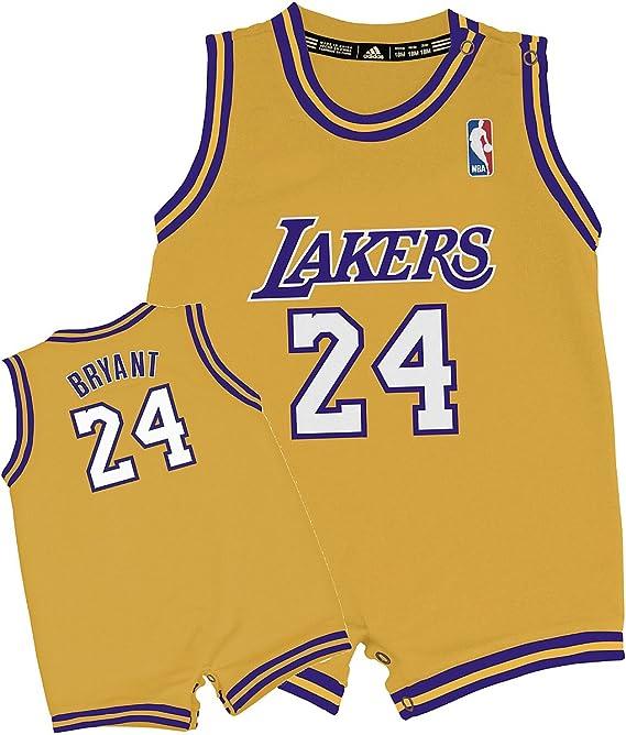 NBA adidas Los Angeles Lakers #24 Kobe Bryant Infant Gold ...