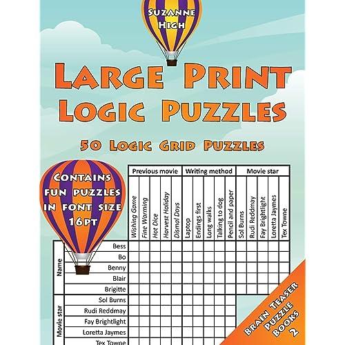 Logic Grid Puzzles: Amazon com