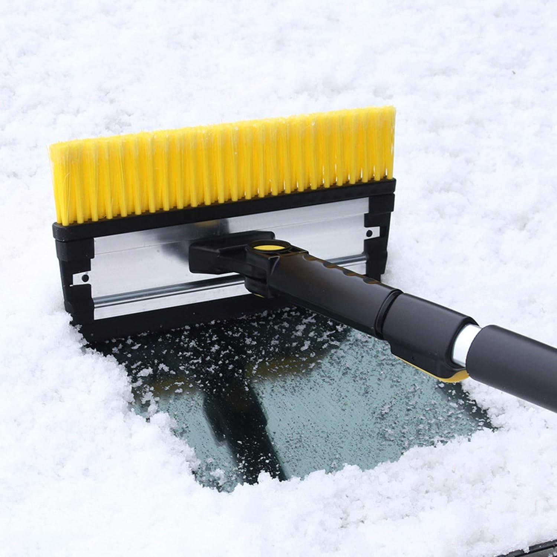 Snow Brushes Windscreen Frost Snow Scraper with Ergonomic Foam Grip Snow Brush Car Accessories for Car Windscreen Windshield Window shesuseke ICE Scraper for Car A