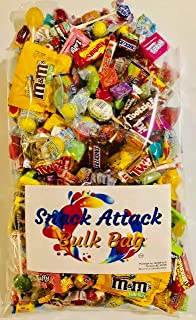 Assorted Candy Pinata Party Mix, 2.5 LB Bulk Bag: Skittles, Reeses, Life Savers, Nerds, Charms Blow Pop, Jaw Busters, Laffy Taffys, Twix, Snickers, Jolly Rancher, Tootsie Rolls, m&m's and Much More!