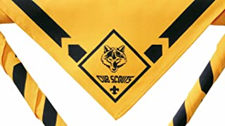 Cub Scout Wolf Neckerchief / Bandanna - Official BSA Uniform Apparel