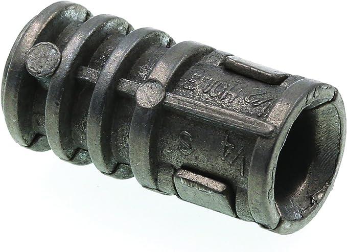 5//16 x 1 3//4 Lag Screw Expansion Shield Long Zinc Alloy Pk 100