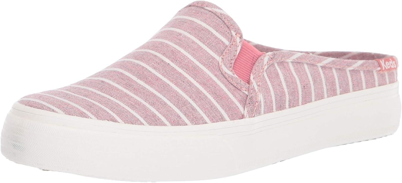 Max 63% OFF Keds Women's Double Decker Stripe Very popular Sneaker Mule Chambray