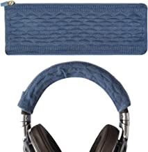 Geekria Thickening Sweater Headband Cover, Compatible with Sony WH1000XM3, WH1000XM2, MDR1000X, WHCH700N, XB950B1, XB950N1, XB950BT, 1A Headphones/Stretchable Knit Fabric Protector Sleeve (Blue)