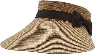 Women Straw Hat Wide Brim Sun Visor Beach Golf Cap Hat Summer Beach Hat