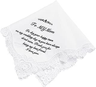 mother of the bride handkerchief wording