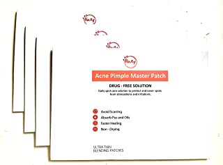 Purity Acne pimple master patch 144 patches in total healing zit 36 patches x 3 and get one FREE 144 patches drug-free breathable absorbing dot stickers cover patch spot treatment personal care 36 Patch x 3 and get ONE FREE