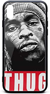 Young-Thug-by-dianana-Music- iPhone Xs/X Cases,Shockproof Pc Back TPU Frame Personalised Protective iPhone Xs/X Cases,Gift for Fans