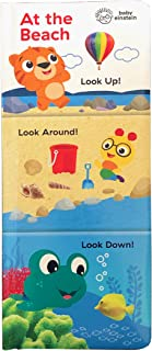 Baby Einstein at the Beach: Look Up, Look Around, Look Down (3 in 1 Tall Padded Board Book)