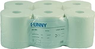 colore bianco WYPALL* L10 Extra Panni per pulizia a estrazione centrale 7374-12 rotoli x 200 fogli a 1 velo