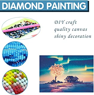 Home,Garden,Home Decor,Landscape Painting Diamond Painting Diy Embroidery Cross Stitch Home Decoration Landscape Diamond Painting (3040 Full Diamond) Polar Image