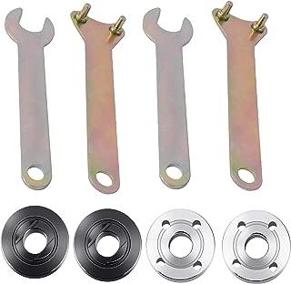 M10 Angle Grinder Spanner Wrench Flange Nut for Dewalt Milwaukee Makita Black Decker Replacement Parts (2 Set)