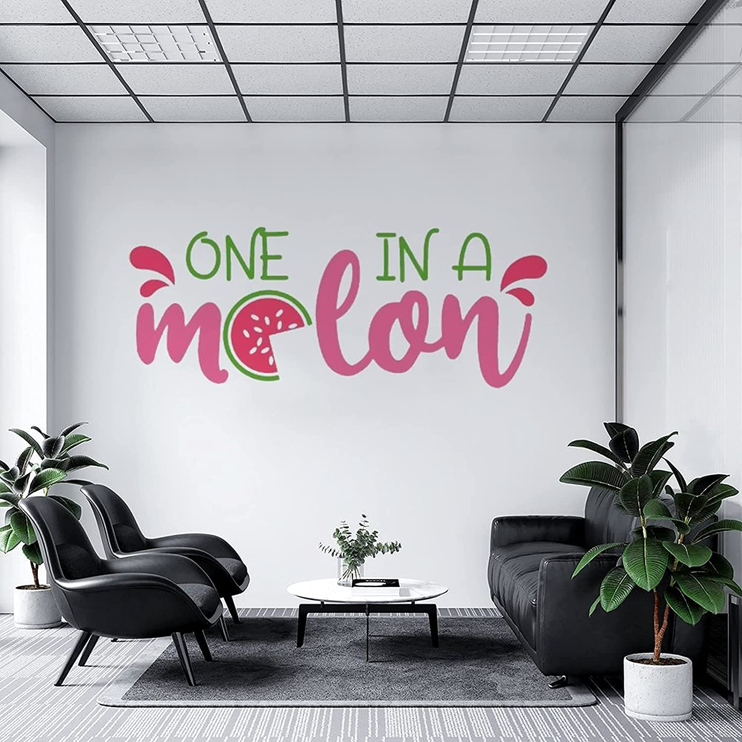 Wall Decal One in A Melon, Classroom L Nursery Bedroom Kitchen Sales of SALE items from Luxury new works
