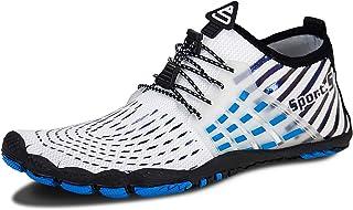 Chaussures d'eau pour Hommes Et Femme Chaussures de Plage Chaussures de Plongée Barefoot Shoes Chaussures de Surf Adaptées...