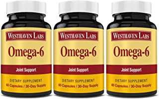 Sponsored Ad - Omega-6 | Natural Joint Support Formula | Relieves Pain Due to Inflammation | Dietary Supplement | Help Reb...