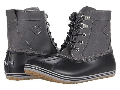 Sperry Kids Bowline Boot (Little Kid/Big Kid) (Grey/Black) Boy