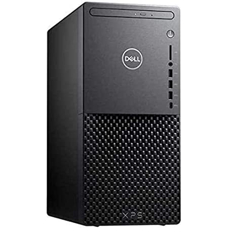 2021 Flagship Dell XPS 8940 Business Tower Desktop Computer 10th Gen Intel Octa-Core i7-10700 16GB RAM 512GB SSD Integrated Intel UHD Graphics 630 USB-C DisplayPort WiFi Win10