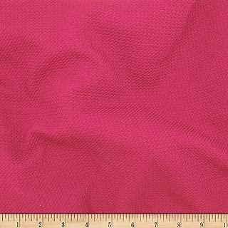 pink pique fabric