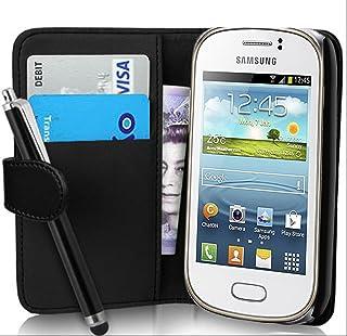 345b0d8d4cd fi9 - Funda tipo cartera para Samsung Galaxy Young GT-S6310 y S6310L  (poliuretano