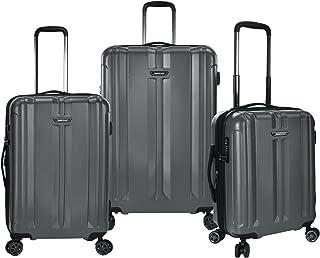Traveler's Choice La Serena 3-Piece Spinner Luggage Set, Grey (Gray) - TC09071G