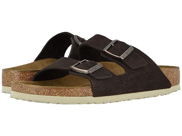 Birkenstock  Arizona (Soft Brown Nubuck) Mens Shoes