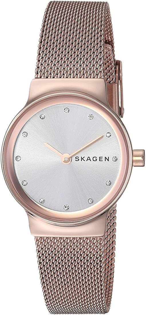 SKW2665 Rose Gold Stainless Steel Mesh