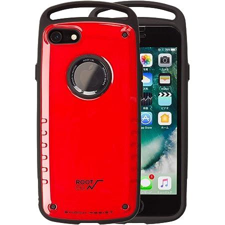 【ROOT CO.】iPhone7 iPhone8 ケース 耐衝撃 GRAVITY Shock Resist Case Pro. (レッド)米軍MIL規格取得