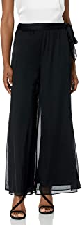 Women's Wide Leg Dress Pant (Petite Regular Plus Sizes)