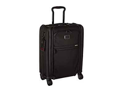 Tumi Alpha 3 International Slim 4 Wheeled Carry-On (Black) Luggage